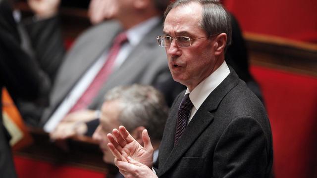 Claude Guéant, le 31 janvier 2012 devant l'Assemblée nationale [Patrick Kovarik / AFP/Archives]