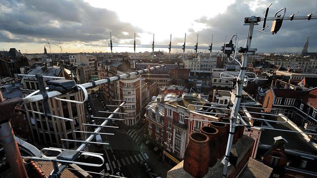 Un toit de la ville de Lille [Philippe Huguen / AFP/Archives]