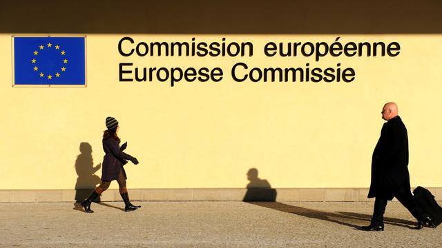Façade de l'immeuble de la Commission européenne, le 6 février 2012 [John Thys / AFP/Archives]