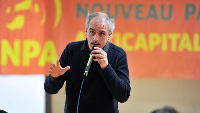 Philippe Poutou, le 7 février 2012 à Montpellier [Pascal Guyot / AFP/Archives]