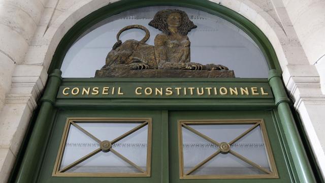 Façade du Conseil constitutionnel, le 21 février 2012 à Paris [Thomas Samson / AFP/Archives]