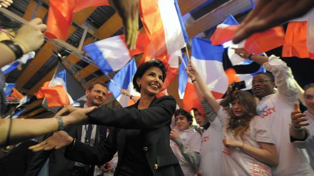 Rachida Dati pendant un meeting lors de la campagne présidentielle à Lille le 23 février 2012 [Philippe Wojazer / AFP/Archives]