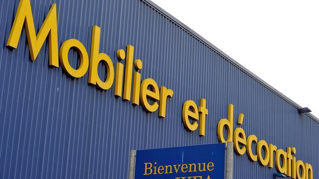 Une enseigne Ikea [Philippe Huguen / AFP/Archives]