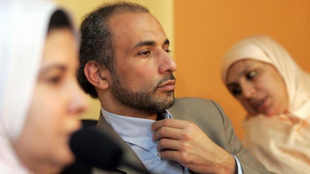 Tarik Ramadan le 1er avril 2006 à Casablanca [Abdelhak Senna / AFP/Archives]