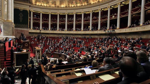 L'hémicycle de l'Assemblée nationale [Jacques Demarthon / AFP/Archives]