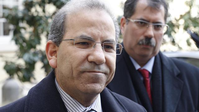 Mohammed Moussaoui, président du CFCM, le 8 mars 2012 à Paris [Thomas Samson / AFP]