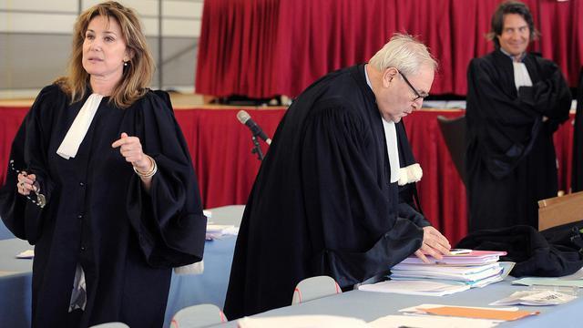 Stella Bisseuil, l'avocate de l'association des victimes de la catastrophe AZF, le 6 mars 2012 à Toulouse [Remy Gabalda / AFP/Archives]
