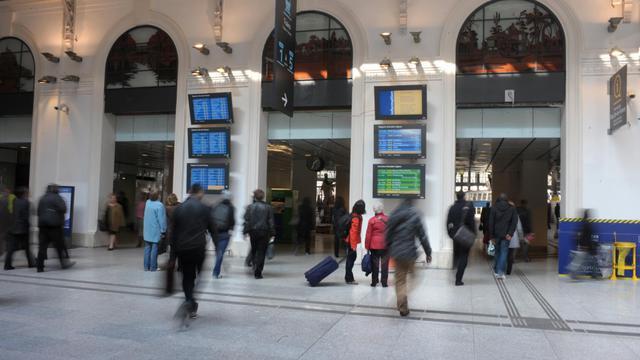 La gare Saint-Lazare [Eric Piermont / AFP/Archives]