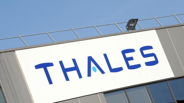 Le logo du groupe Thales [Frank Perry / AFP/Archives]