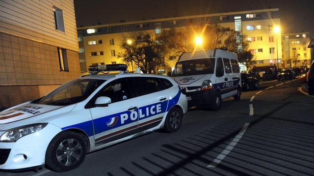 Des voitures de police à Arras, le 16 mars 2012 [Denis Charlet / AFP/Archives]