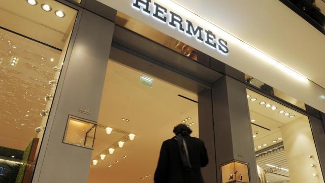 Une boutique Hermès [Eric Piermont / AFP/Archives]