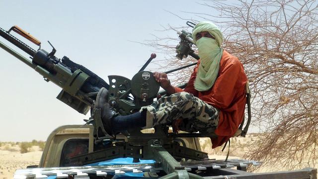 Un rebelle islamiste près de Tombouctou, dans le nord du Mali, le 24 avril 2012 [Romaric Ollo Hien / AFP/Archives]