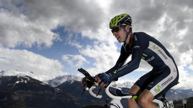 Au Grand Prix de Montréal, dimanche sur un parcours qui avantagera les grimpeurs, le Portugais Rui Costa fait figure de favori à sa propre succession [AFP]