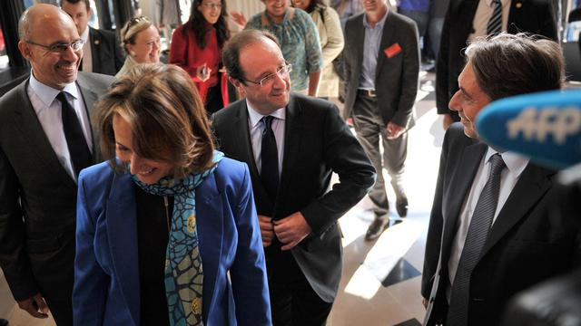 Ségolène Royal et François Hollande le 14 mai 2012 à Paris [Bertrand Langlois / AFP/Archives]
