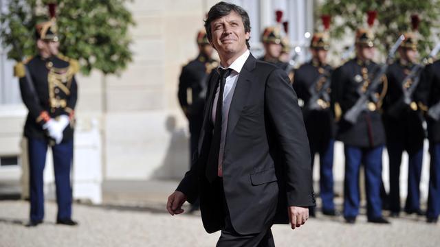 David Assouline, porte-parole du PS, le 15 mai 2012 à Paris [Lionel Bonaventure / AFP/Archives]