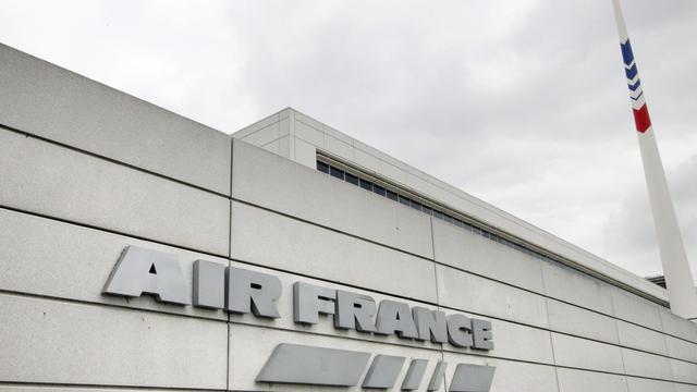 Le siège d'Air France à Roissy-Charles de Gaulle, près de Paris [Joel Saget / AFP/Archives]