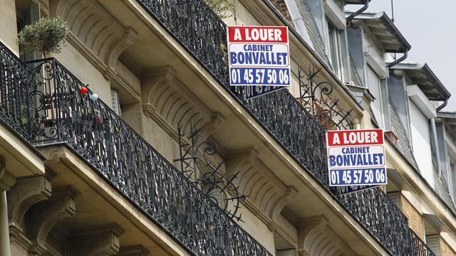 L'augmentation des loyers des nouveaux baux dans le parc immobilier privé en France a été limitée sur un an à un niveau inférieur à l'inflation en raison d'une demande hésitante, selon des chiffres publiés mardi par l'observatoire Clameur.[AFP]