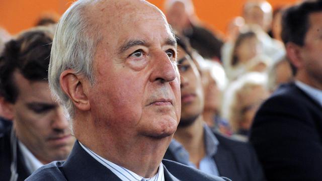 L'ancien Premier ministre Edouard Balladur à Paris le 7 juin 2012 [Mehdi Fedouach / AFP/Archives]