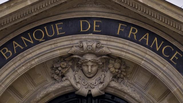 La façade de la Banque de France, à Paris, le 8 juin 2012 [Joel Saget / AFP]