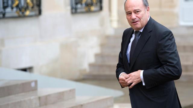 Jean-Michel Baylet, le président du Parti radical de gauche (PRG), arrive à l'Elysée le 8 juin 2012, à Paris [Bertrand Langlois / AFP/Archives]