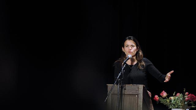 La ministre de la Culture Aurélie Filippetti, le 8 juin 2012 à Metz [Jean-Christophe Verhaegen / AFP/Archives]