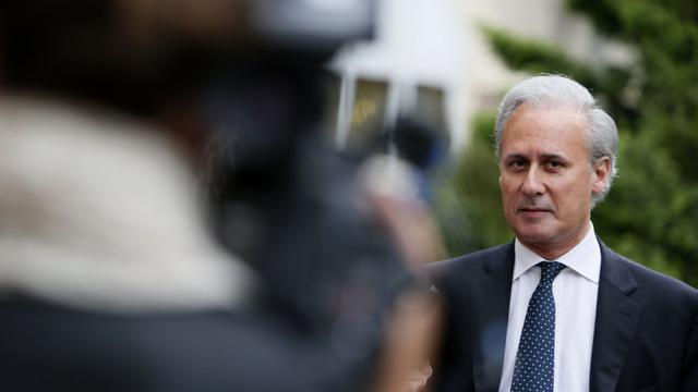 L'ex-ministre Georges Tron, le 13 juin 2012 à Draveil, près de Paris [Kenzo Tribouillard / AFP/Archives]