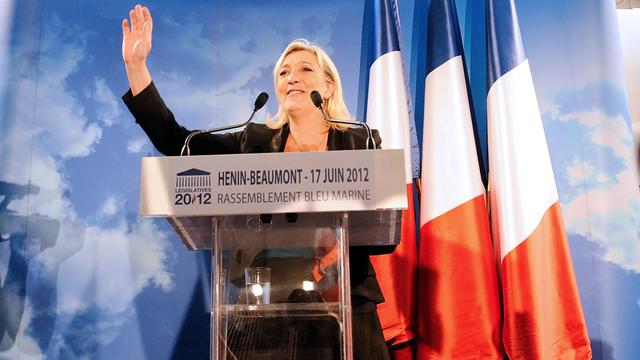 Marine Le Pen le 17 juin 2012 à Henin-Beaumont [Denis Charlet / AFP/Archives]