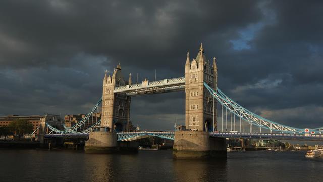 Une vue générale de Londres, le 19 juin 2012, où est décédé l'historien Eric Hobsbawm le 1er octobre 2012 [Miguel Medina / AFP/Archives]