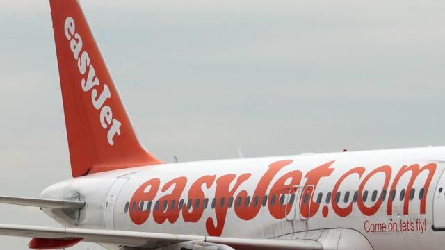 Un avion de la compagnie britannique easyJet [Jacques Demarthon / AFP/Archives]