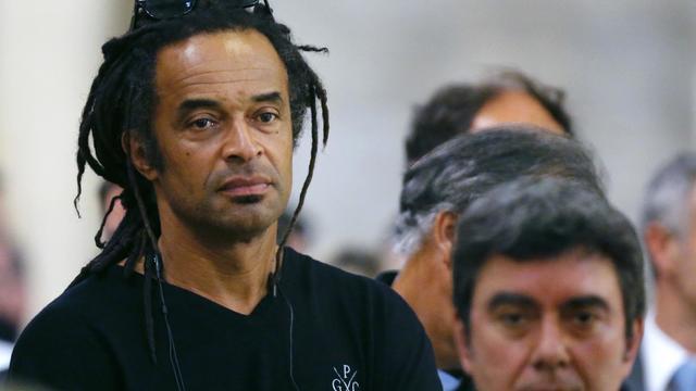 L'ancien tennisman Yannick Noah, à Paris, le 21 juin 2012 [Joel Saget / AFP/Archives]