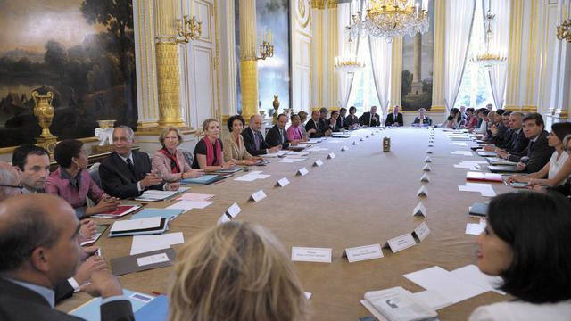 Conseil des ministres le 22 juin 2012 au palais de l'Elysée à Paris [Philippe Wojazer / AFP/Archives]