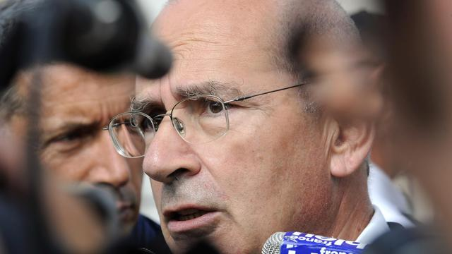 Le procureur de la République de Bordeaux, Claude Laplaud, le 26 juin 2012 [Jean-Pierre Muller / AFP/Archives]
