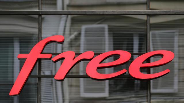 Le logo de Free [Kenzo Tribouillard / AFP/Archives]