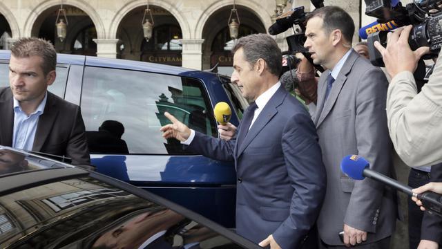 Nicolas Sarkozy le 28 juin 2012 à Paris [Kenzo Tribouillard / AFP/Archives]