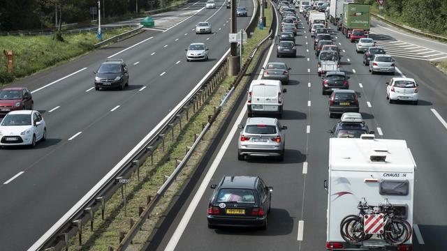 Une autoroute en France [Jean-Philippe Ksiazek / AFP/Archives]