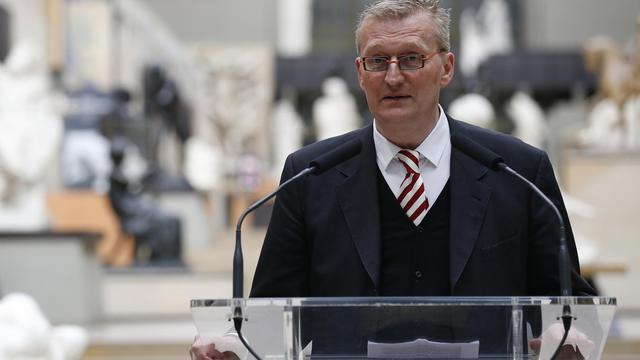 Guy Cogeval, président du musée d'Orsay, lors d'une cérémonie, le 2 juillet 2012 à Paris [Thomas Samson / AFP/Archives]