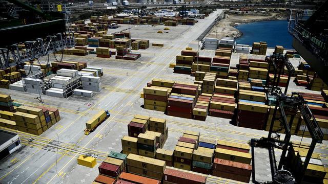 Un terminal du port de Sines [Patricia de Melo Moreira / AFP/Archives]