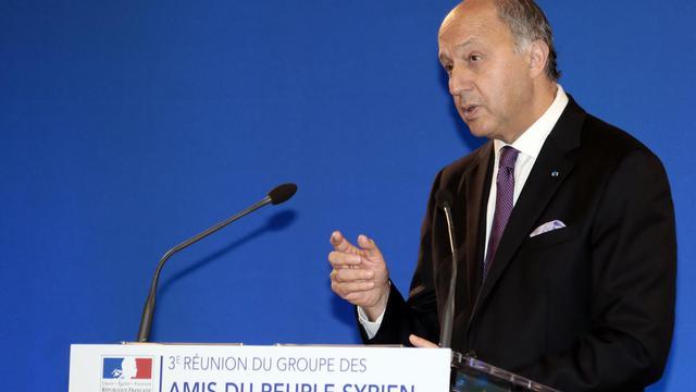 Le ministre des Affaires étrangères, Laurent Fabius.