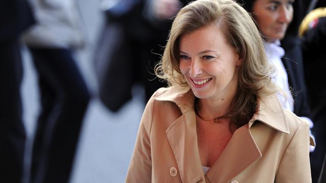 Valérie Trierweiler à Paris, le 14 juillet 2012 [Bertrand Guay / AFP/Archives]