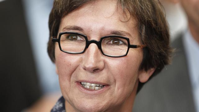 Le ministre française des Sports Valérie Founeyron. [Charles Platiau / AFP/Archives]
