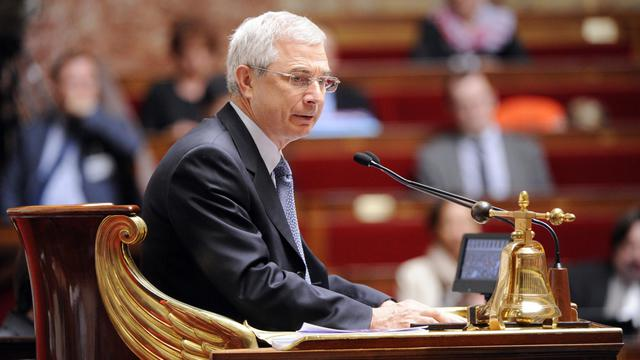 Le président de l'Assemblée nationale Claude Bartolone , le 17 juillet 2012 à Paris [Bertrand Guay / AFP/Archives]