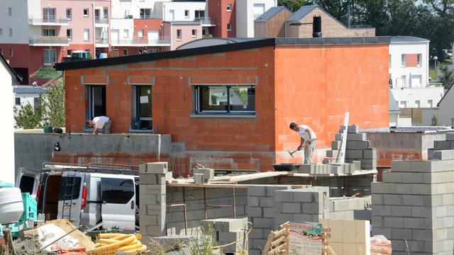 Logements en construction le 18 juillet 2012 dans l'ouest de la France [Damien Meyer / AFP/Archives]