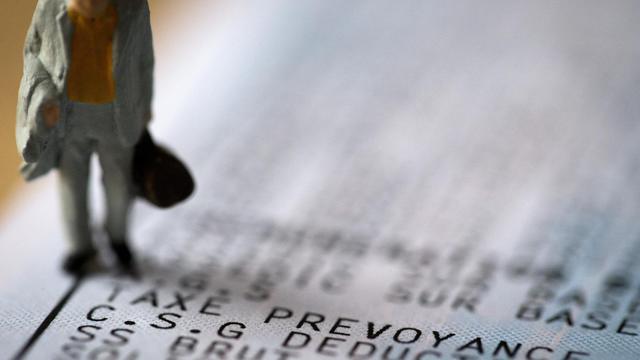 Illustration de la CSG, faite le 31 juillet 2012 [Joel Saget / AFP/Archives]
