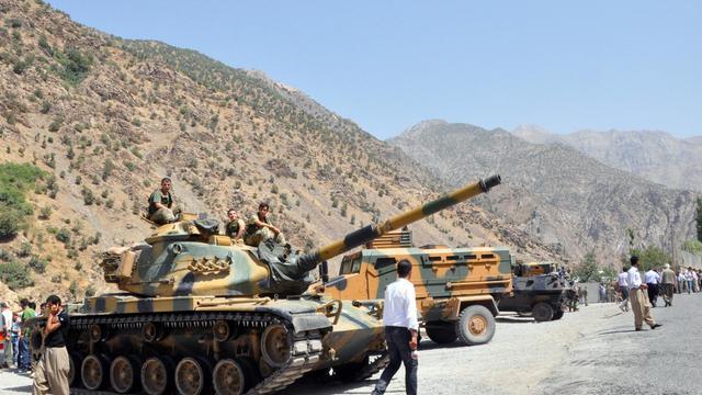 Des véhicules de l'armée turque [ / AFP/Archives]