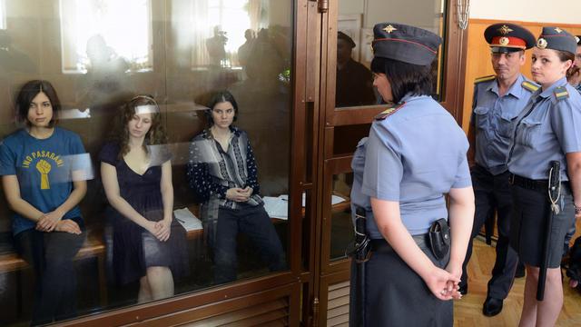La juge chargée du procès des trois membres du groupe punk Pussy Riot a été placée sous protection de l'Etat à la suite de menaces, a déclaré jeudi une porte-parole de son tribunal, à la veille de la lecture du jugement de ce procès controversé à l'écho international.[AFP]