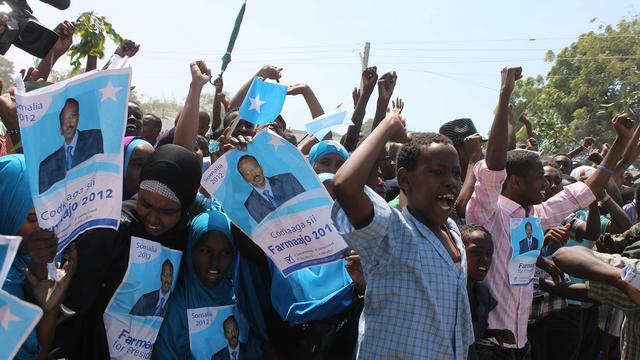 """Sauf contre-temps de dernière minute, la Somalie aura lundi un nouveau président, à l'issue d'un vote de son Parlement et d'un processus que certains, Nations unies en tête, qualifient """"d'historique"""" pour sortir le pays de deux décennies de guerre civile et de chaos politique. [AFP]"""