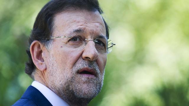 Le chef du gouvernement Mariano Rajoy, le 14 août 2012 en Espagne [Jaime Reina / AFP/Archives]