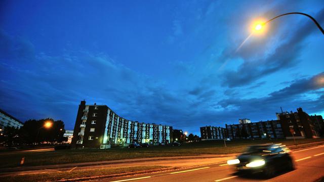 Vue des quartiers nord d'Amiens, en août 2012 [Philippe Huguen / AFP/Archives]