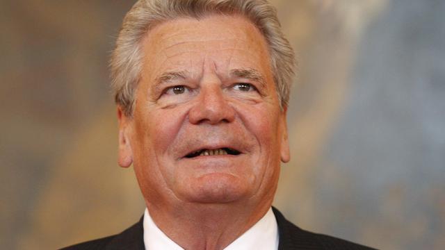 Le président allemand Joachim Gauck, le 16 août 2012 à Vienne [Dieter Nagl / AFP/Archives]