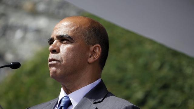 Le ministre délégué aux Anciens combattants Kader Arif, le 19 août 2012 à Dieppe [Charly Triballeau / AFP/Archives]
